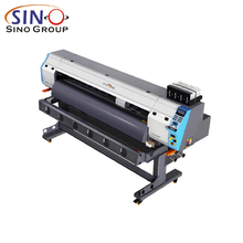 Digital Printers Konica 512i Print head Banner Vinyl Canvas 4 Colors Eco Solvent Inkjet Printing Machine