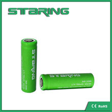 3.7v 700mah 14500 rechargeable battery wholesale high power lithium ion battery 14500