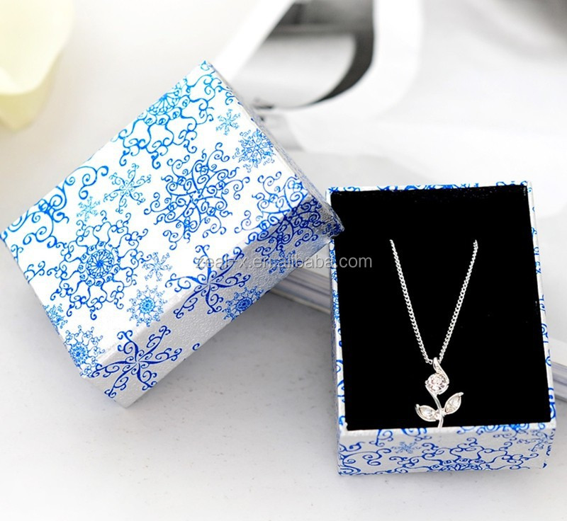 Promotional Discount Chinese Style Recycled Material Made of Shape Necklace Paper Jewelry Box
