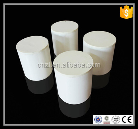 hot sale white cylinder ceramic jar