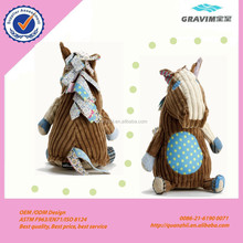 plush sitting horse toy