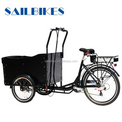 front loading cargo tricycle with 6 speed shift
