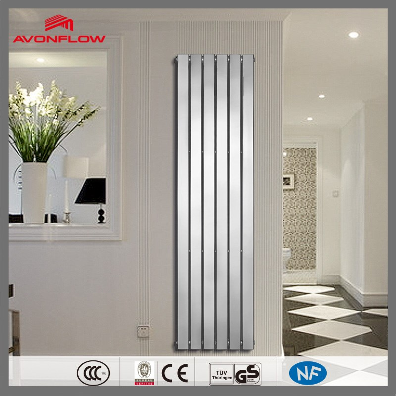 AVONFLOW Steel Panel Design Vertical Chrome Water Radiator