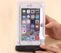 Hot sale double seals strong waterproof mobile phone pouch