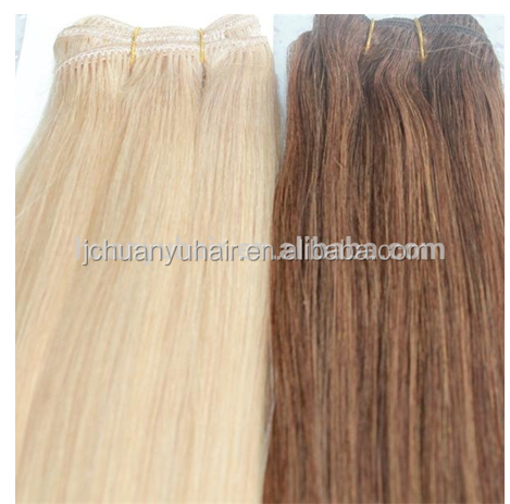 high quality brazilian human hair weave, full cuticle remy weft hair extensions