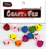 MTCR-WDC053 colorful apple wood beads