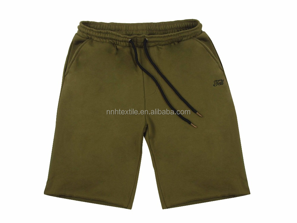 men running shorts custom drawstring waist <strong>n</strong> wholesale sweat shorts mid length drop crotch mens shorts