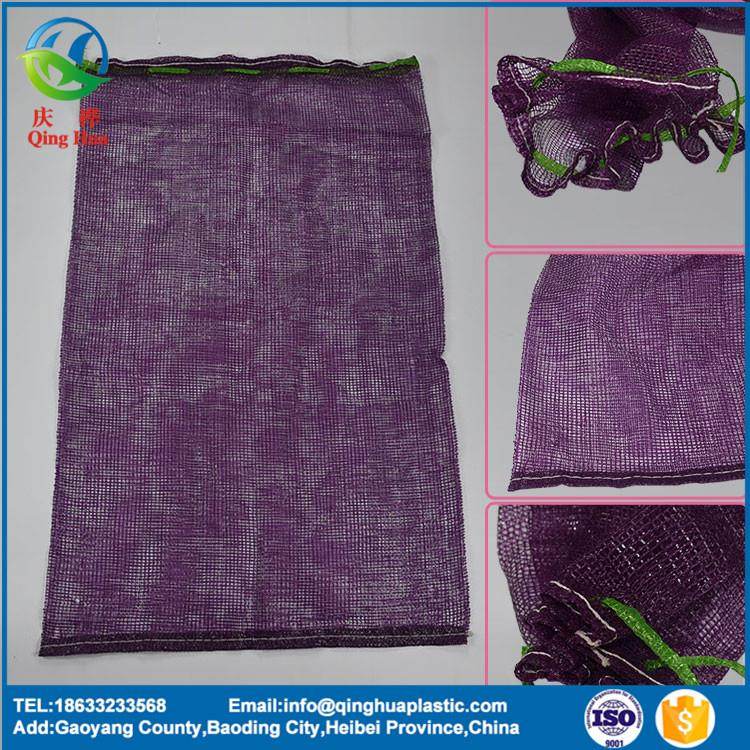 competitive price good quality fruit and vegetable small drawstring mesh bags