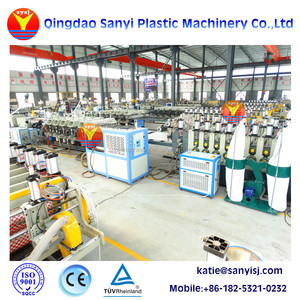 Kitchen cabinet door making machine/Pvc wpc board extrusion line in China