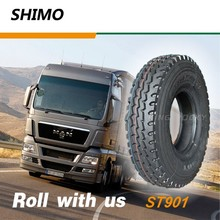 ST901 Good heat dissipation performance truck tires for sale 9.00R20