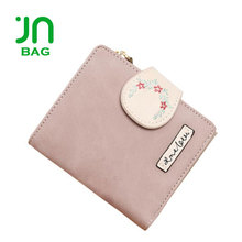 JIANUO Women custom embroidered unique cheapest wallets custom printed wallets