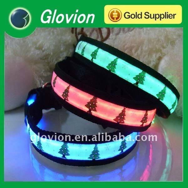 2011 Christmas style fancy pet collars smallest dog collar personalized collar