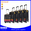 Baigou wholesale leather lugagge bag wheels trolley luggage set garment luggage set