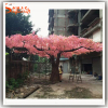Guangzhou Large outdoor fake flowers tree type of artificial cherry blossom tree arches for wedding decoration