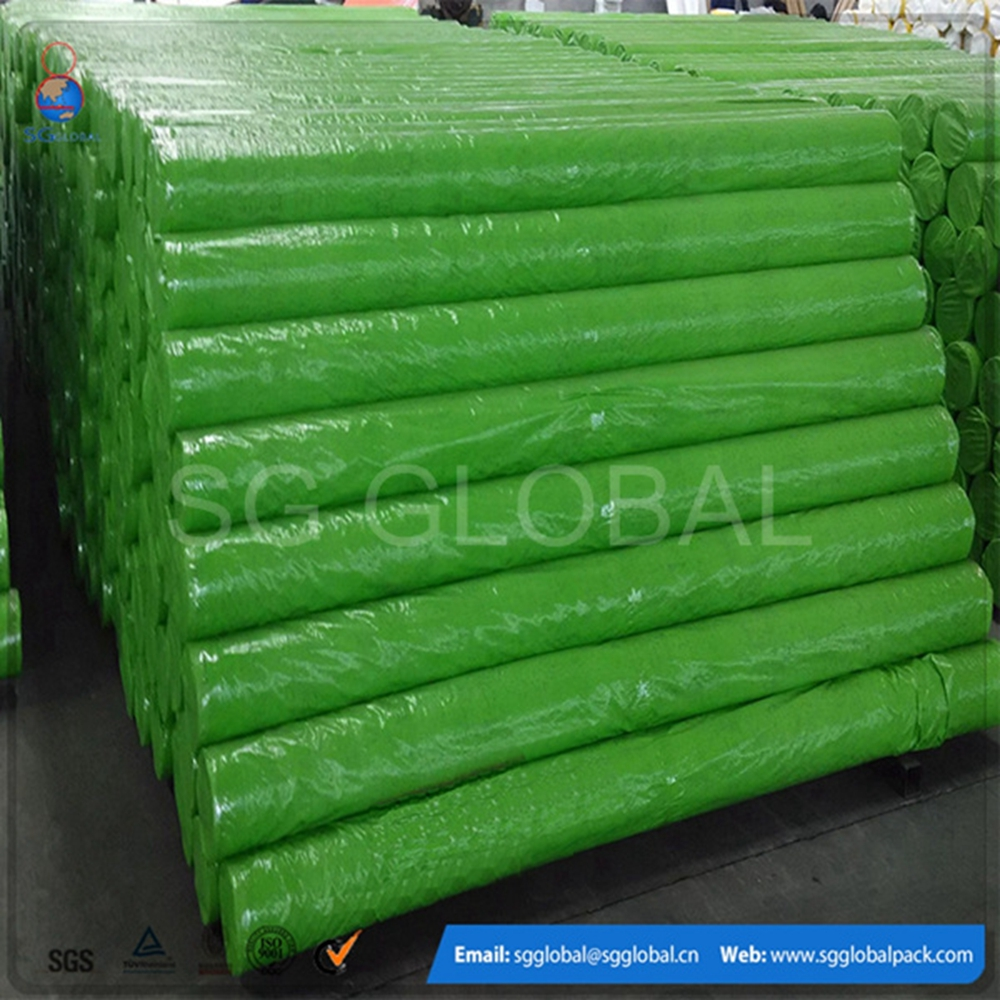 Colored Jumping China PE Tarpaulin Factory