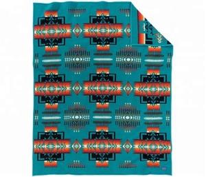 Southwest Native Indian American Fleece Blanket