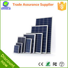 High efficiency poly crystal silicon per watt 280watts solar panel price