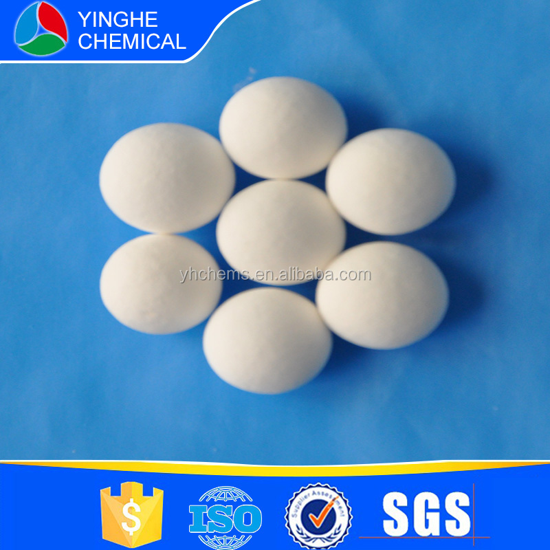 white or light yellow alumina ceramic ball grinding media