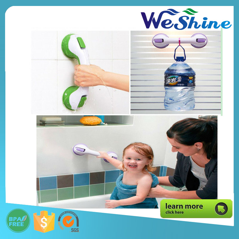 Helping Handle Sucker Safer Bathroom Shower Grab Bars Banheiro Door Armrest Strong Suction Cup Keeping Balance