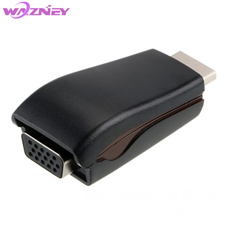 1080P HDMI to VGA Converter Lead with Audio and power Output Cable HDMI Female to VGA Male Converter Lead