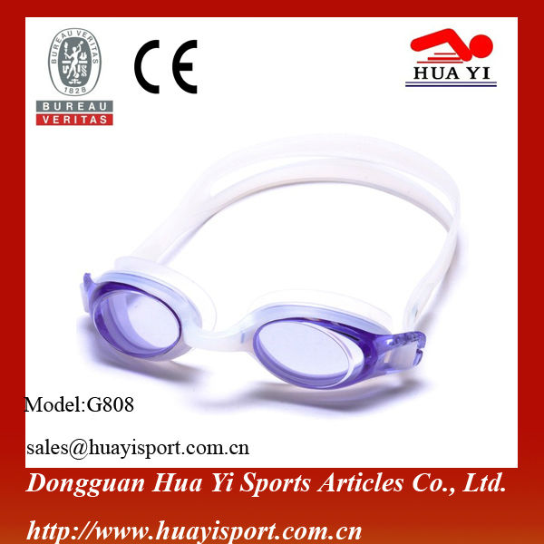 Adult professional silicone best quality custom quality new swim goggles