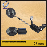 Metal Detector MD-5008 with Two Coil Deep Sensitive Searching Underground Gold Finder Geophysical Equipment Depth Metal Detector