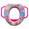 safety portable travel baby toilet potty training seat with high quality toilet seat with colorful handle