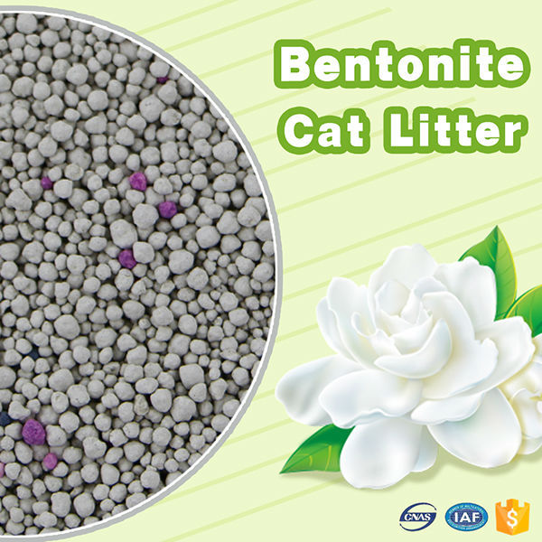 New pet products premium high effcient clumping kitty litter OEM