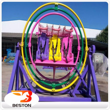 Funfair Rides for Sale ! 3D Space Ring Rides Human Gyroscope UK