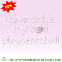 Football Mom Half Round Stud Motif U2 (17)