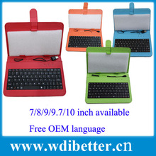 For window tablet keyboard cover for windows tablet pc