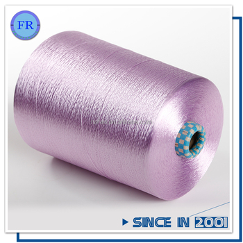 Cheap price quality 40d24f viscose rayon filament yarn dyed