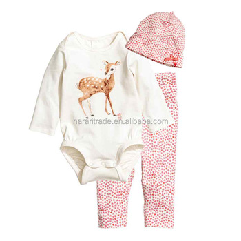 Wholesale price bamboo long sleeve spring baby boy and girl clothes kids clothing