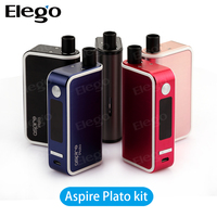 Hot selling Aspire 50W mod Aspire Plato TC Kit, Aspire Plato matches Nautilus Coils