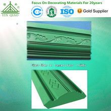 Glass fiber reinforced plastic molds for plaster coving