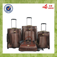 19/23/26 inch 3pcs 2 wheels Soft Luggage sets/High quality luggage/New Luggage Suitcase 3 Pieces Trolley Luggage Set