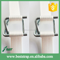 BST 32mm white high tensile recycle plastic strap polyester strapping