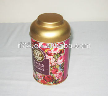 Roof dome cover tea canister