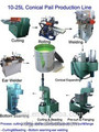 10-18L paint drum Tin Can Manufacturing Machinery