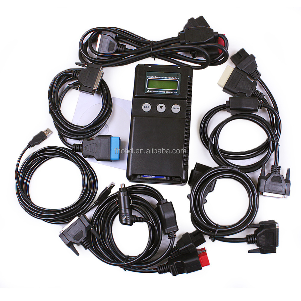 Mut3 Mut III Scanner Mitsubishi MUT-3 With Diagnostic And Programming Tool MUT 3 Diagnostic Tool For Car And Truck With TF Card