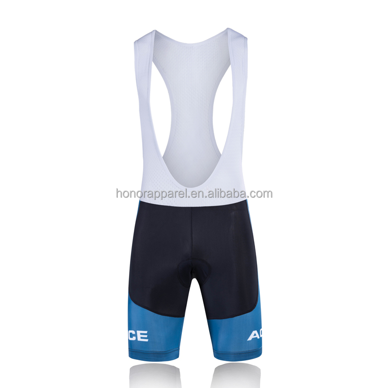 2016 New Product Quick Dry High Quality Cycling Bib Short Honorapparel