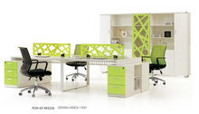 Germany space saving office station design partition office desks(FOH-SF-M3214)