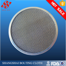 Round shape stainless steel edge banding filter mesh disc