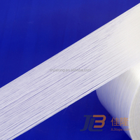 JLT-609, high strength one way fiberglass packaging tape, mono-directional filament tape.CLEAN REMOVAL