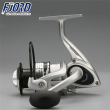 FJORD High quality low price ABS plastic spinning fishing reel with alu spoon for saltwater in stock
