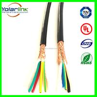 KVVP flexible 4 core Braiding Shielded Control Cable
