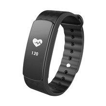 Original I6 HR Full touch screen message view heart rate smart bracelet with Vibration Alarm clock function,timing function