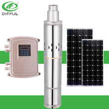 brushless dc solar submersible water pump without electricity