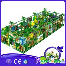 Jungle theme 3d model commercial indoor kids playground for plastic garden