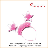 Wholesale Plastic Headbands Baby Feather